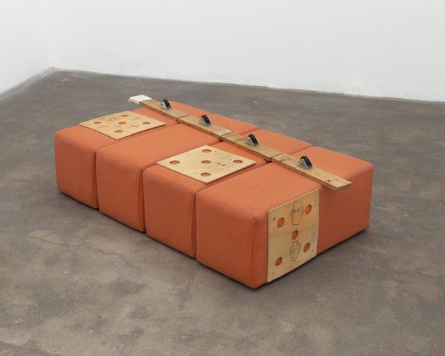Alberto Casari, '4 Autorretratos 4', 1993, Galería Lucia de la Puente