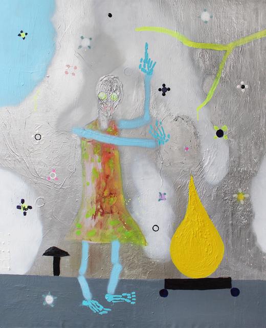 , 'Übler Wald (Beware of the Strange Yellow Thing),' 2014, Galerie Clemens Gunzer