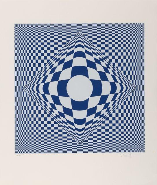Victor Vasarely, 'Vertigo', 1982, Print, Screenprint in colors on paper, Heritage Auctions