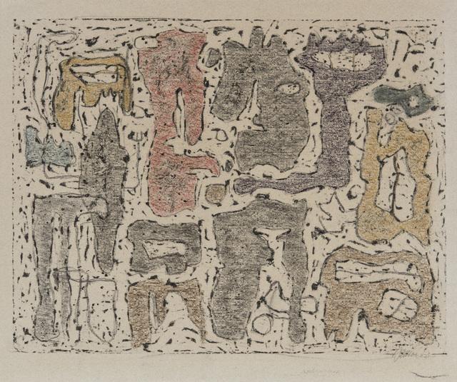 , 'Afrikanische Erzählung (African Tale),' 1942, Galerie Klaus Gerrit Friese