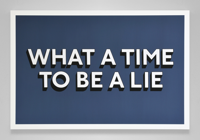 Tim Fishlock, 'What A Time To Be A Lie', 2020, Painting, Acrylic gouache on wooden panel, Hang-Up Gallery