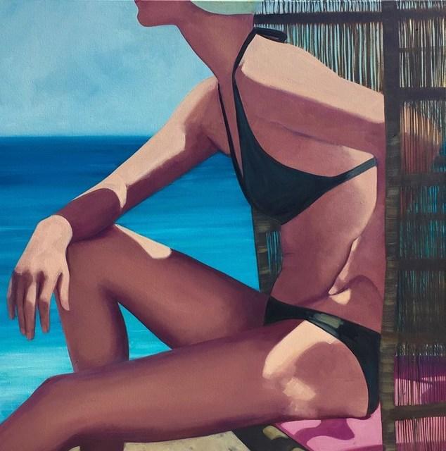 TS Harris, 'Wicker Beach Chair', 2017, Quidley & Company