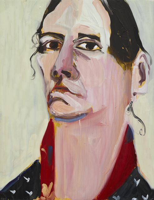 Chantal Joffe, 'Self-Portrait, February', 2019, Victoria Miro