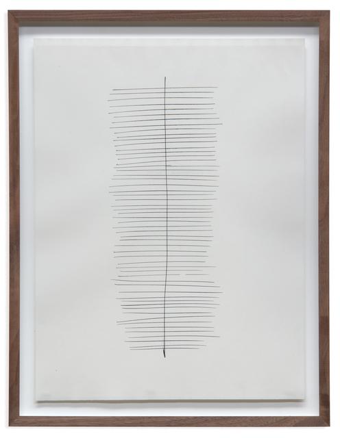 Jan Schoonhoven, 'T 62-111', 1962, BorzoGallery