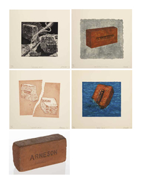 California Brick, Broken Brick, Moby Brick, New Brick/Old Stone, and Brick (five works)