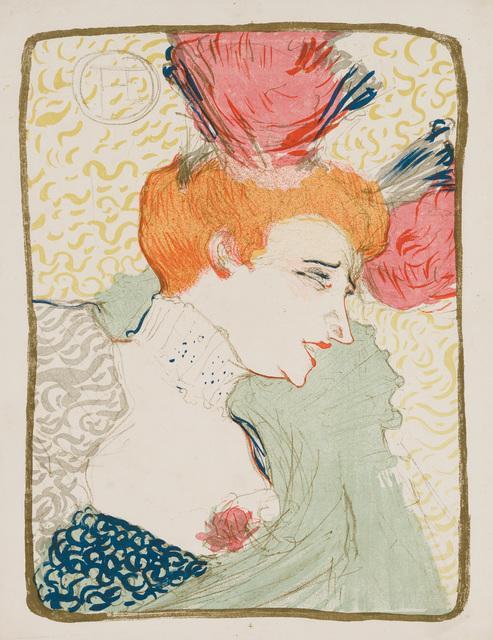 Henri de Toulouse-Lautrec, 'Mademoiselle Marcelle Lender, en Buste', 1895, Christopher-Clark Fine Art