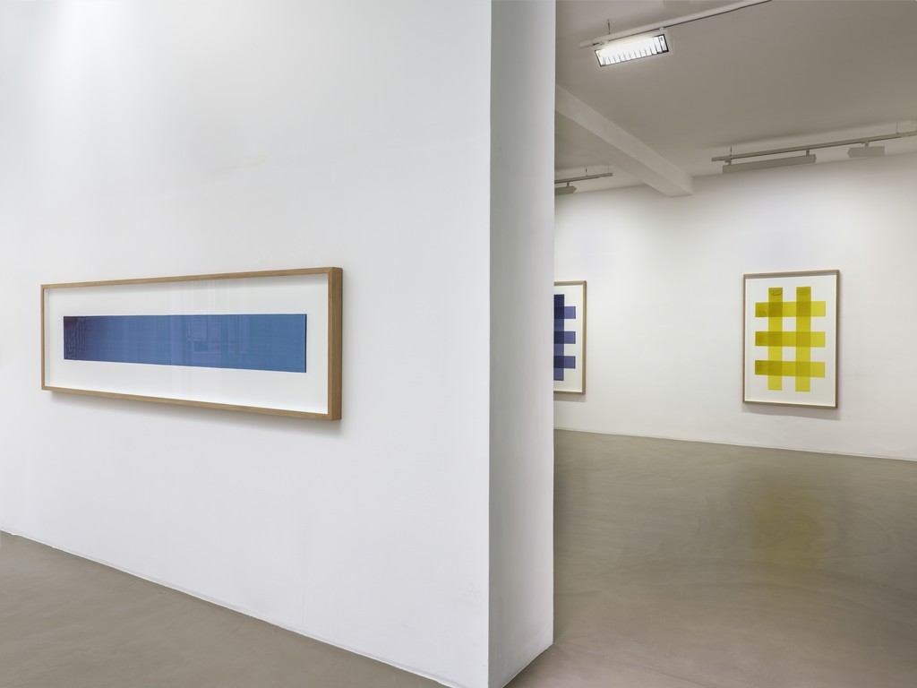 Fabrice Gygi, D-Concept, installation view, Galerie Chantal Crousel, Paris (June 1 - July 13, 2018). Photo: Florian Kleinefenn