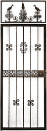 Gate and Transom Ensemble