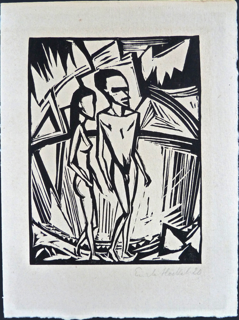 , 'Couple by the Sea,' 1920, Gilden's Art Gallery