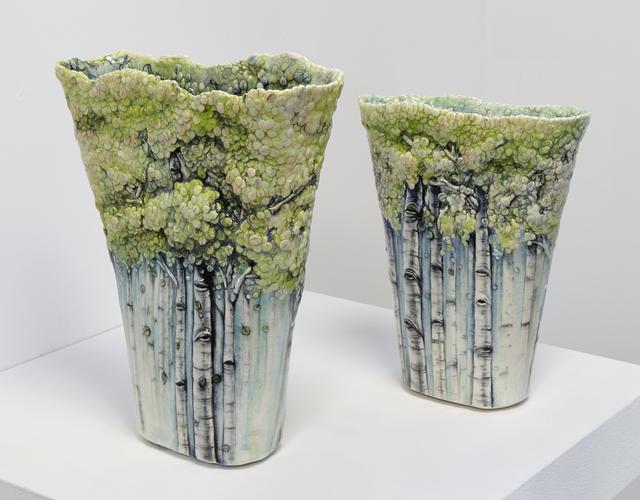 , 'In Dream Vase I & II,' 2016, Jane Hartsook Gallery