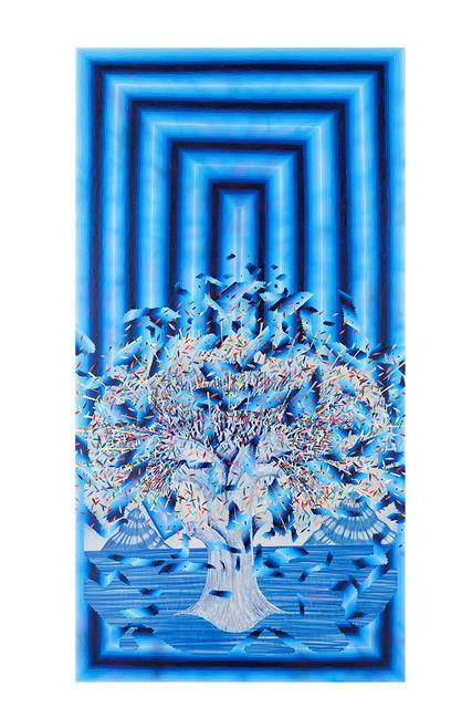 , 'Broken Pattern (Blue Tree),' 2016, Joshua Liner Gallery