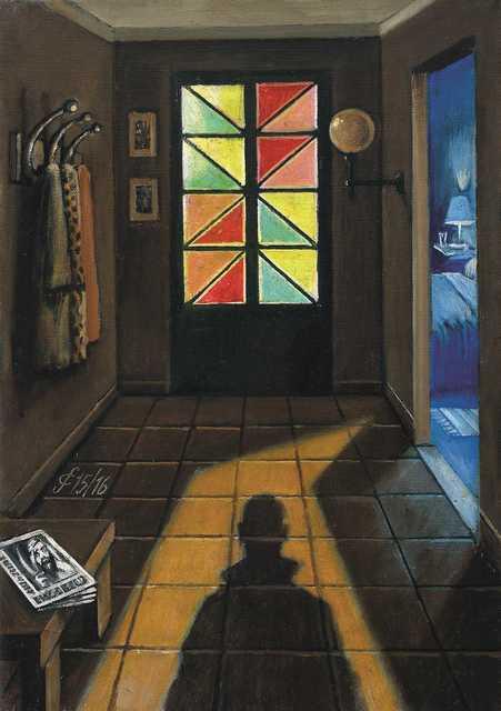 , 'Qualcuno entra in casa,' 2016, Jean-Marie Oger