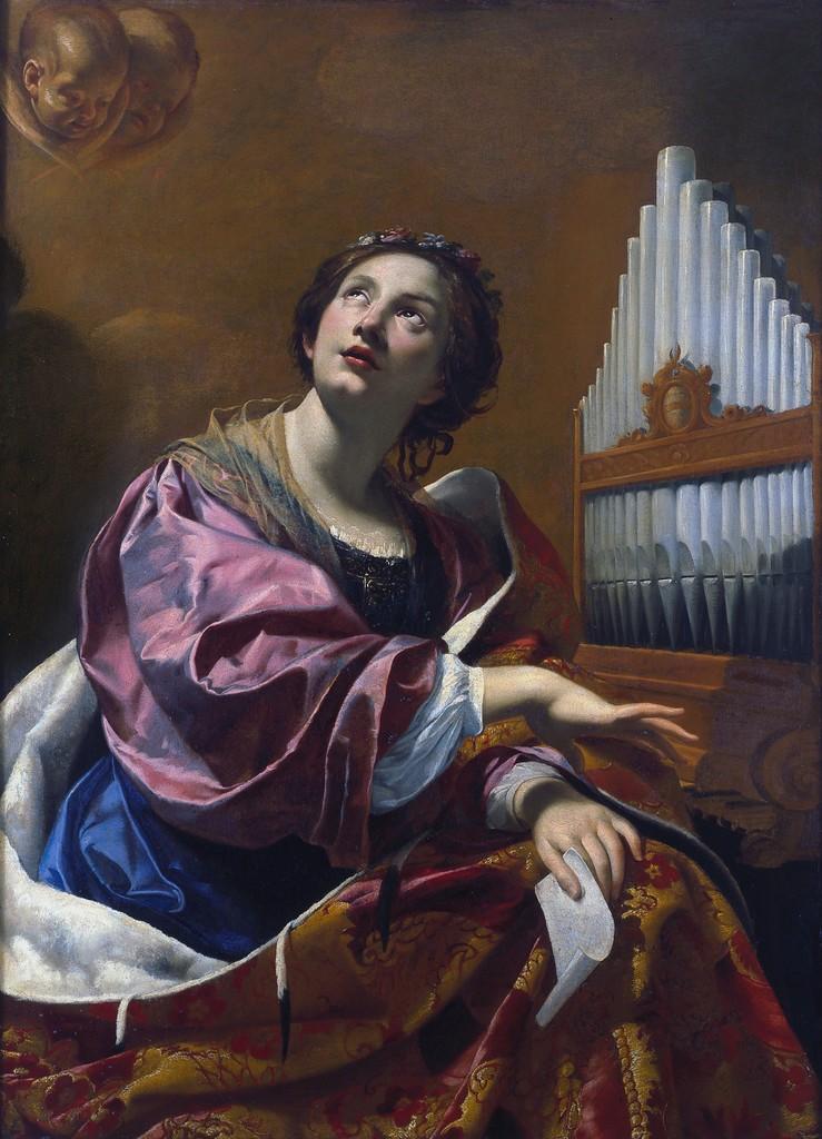 Simon Vouet, 'Saint Cecilia,' 1625, Blanton Museum of Art