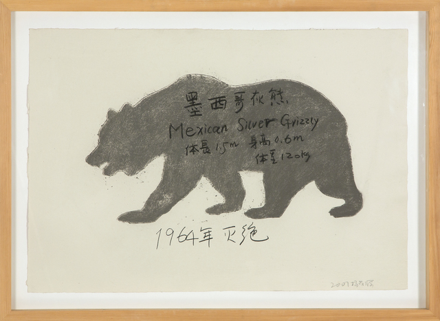 Yang Maoyuan, 'Mexican Silver Grizzly', 2007, Heather James Fine Art