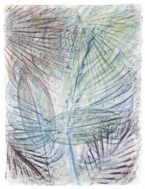 , 'Untitled (California Palm Rubbing 10),' 2014, Malin Gallery