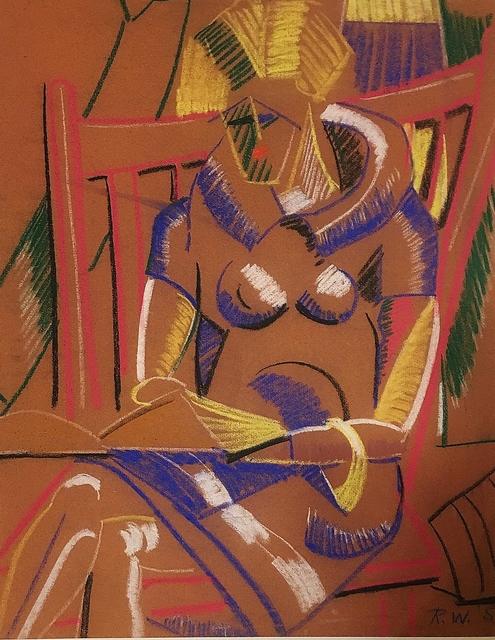 , 'Deco Woman,' ca. 1930, Lawrence Fine Art