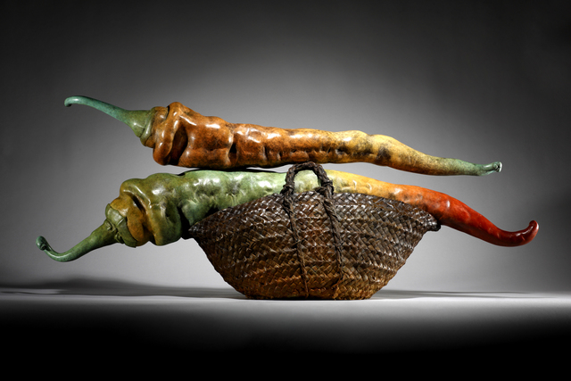 , 'PEPPER BASKET II,' 2012, ArtSpace / Virginia Miller Galleries