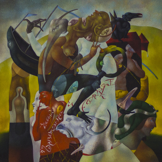 Yuri Tsvetaev, 'The Ideal Play', 1998, Noah's Ark Art Gallery