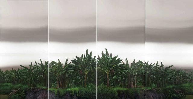 , 'Platanera, políptico,' 2016, LGM Arte Internacional