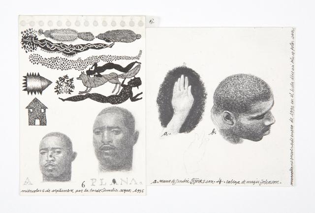 , 'a,' 1995, Casas Riegner