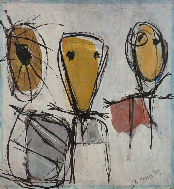 Karel Appel, 'Untitled', 1949, Finarte