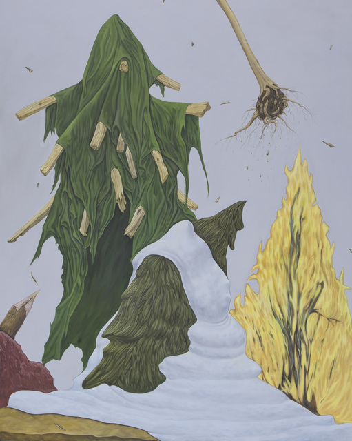 , 'Trees Disastered,' 2011, SNOW Contemporary
