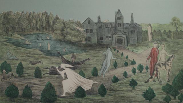, 'Crookhey Hall,' 1979, Gwen Hughes Modern British Art