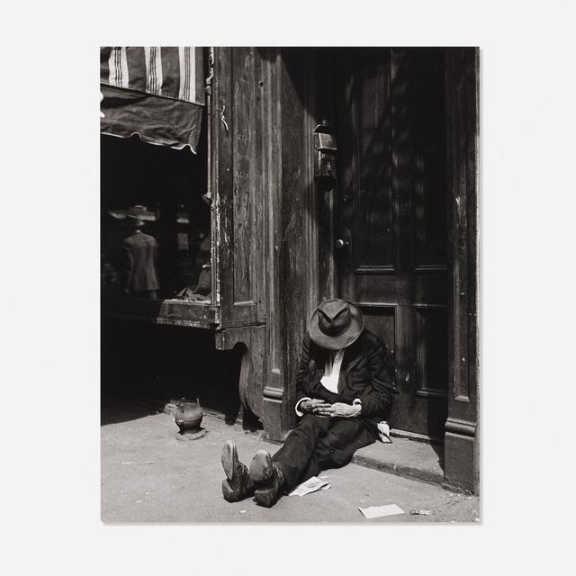 Erika Stone, 'Homeless Man in Doorway', c. 1945, Wright