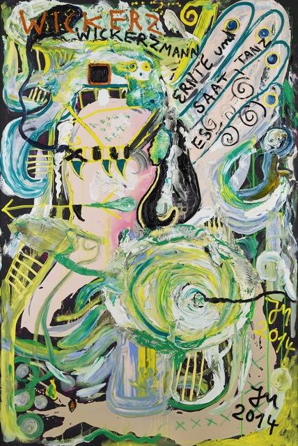 Jonathan Meese, 'NETZWERK'S LETZTES STROH (TANZ DE KALBSULZ)', 2014, bromer kunst