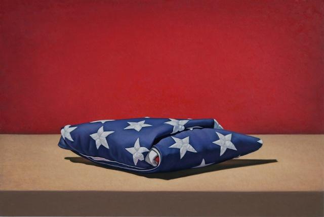 , 'Flag, Folded,' 2018, George Billis Gallery