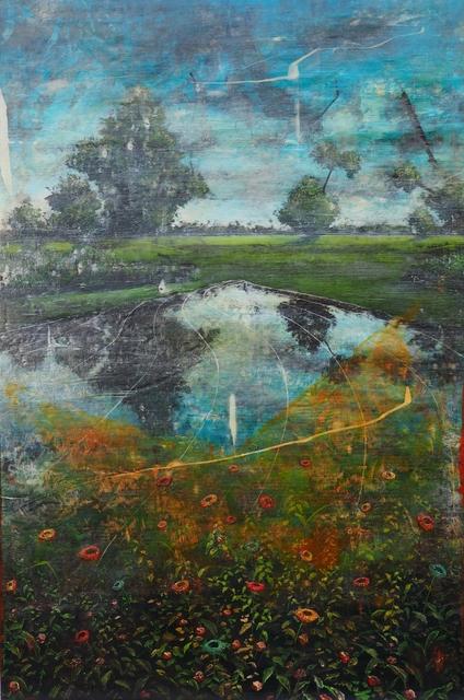 Jernej Forbici, 'Outgrown lake', 2019, Galleria Punto Sull'Arte