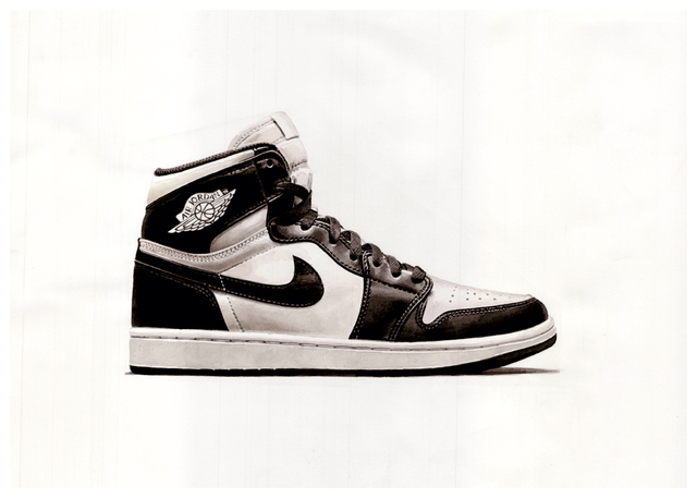 , 'Nike Air Jordan Original Black and White,' 2015, Katya Valevich + Julie Solovyeva
