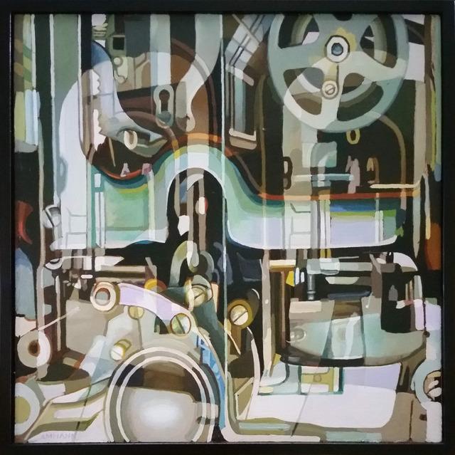 , 'Inner Workings I,' 2018, Bowersock Gallery