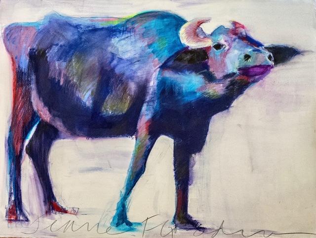 , 'Blue Ox,' 2018, Carter Burden Gallery
