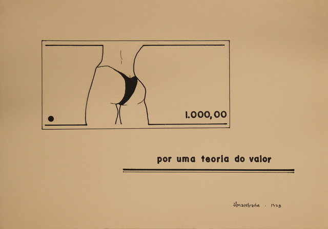 , 'Untitled Visual Poem,' 1978, Roberto Alban Galeria de Arte
