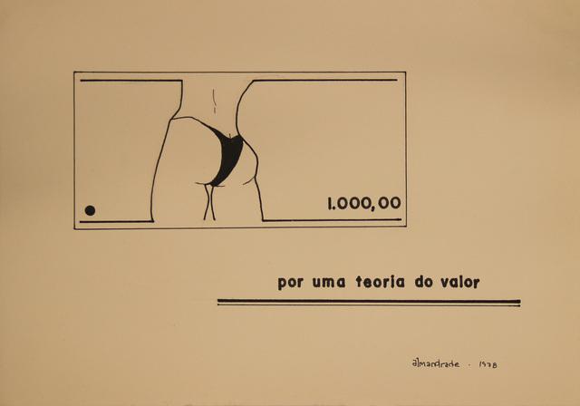, 'Untitled Visual Poem,' 1978, Roberto Alban Galeria de Arte