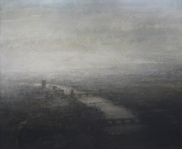 , 'Winter Evening from the Shard,' , Beside the Wave