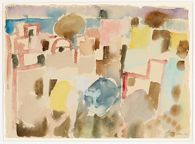 , 'Häuser in Tunis ,' 1970, Galerie Herold