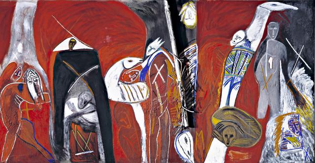 Mimmo Paladino, 'Campi Flegrei', 1982-1983, Collezione Maramotti