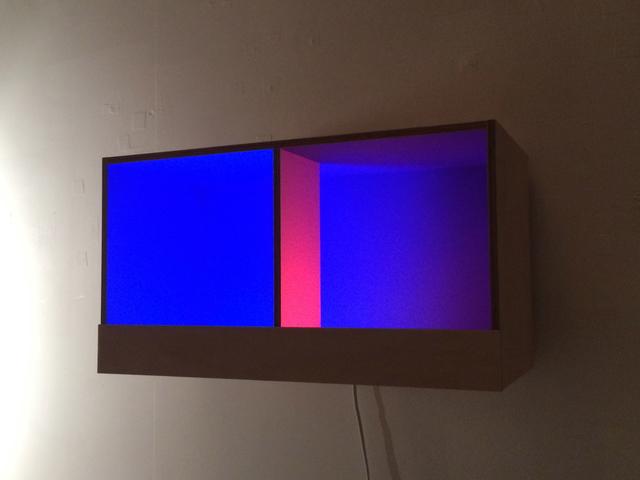 , 'Blue Box,' 2016, Bartha Contemporary