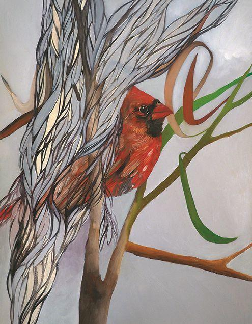 , 'Cardinal,' 2018, Childs Gallery