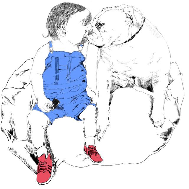 Gerald Wiggins, 'Boy and Dog ', 2014, Creativity Explored
