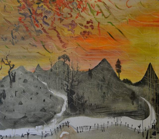 , 'Freely Being Blown,' 2014, Soka Art