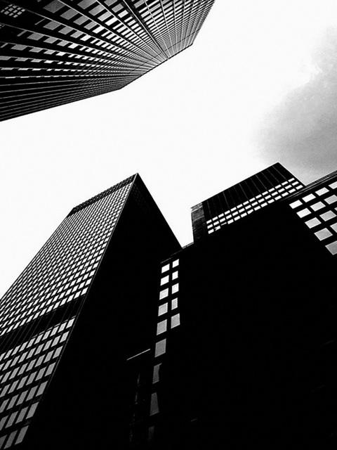 , 'Skyscrapers New York,' 2010, Milk Gallery