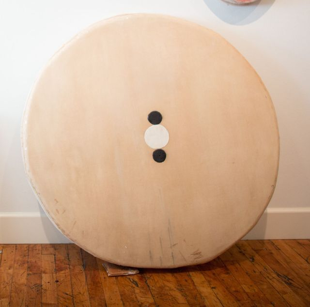 , 'Four Circles, Two Black,' 2015, Barry Whistler Gallery