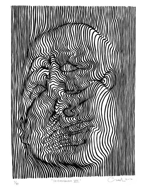 , 'Seismogram VIII,' 2014, V1 Gallery