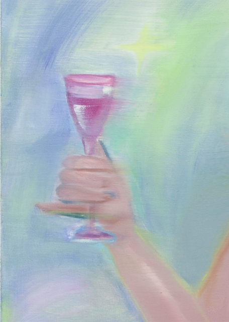 , 'Affection and A Glass of Wine,' 2018, A+ Contemporary