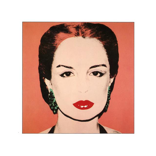 Andy Warhol, 'Maria Carolina Josefina Pacaninis Nino - Darker Background', 1979, White Cross