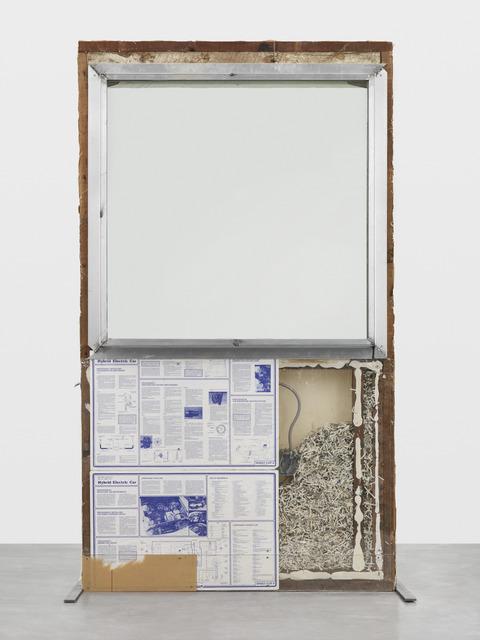 , 'WALK THROUGH WALLS (I Don't Wanna Be Known),' 2017, Galerie Eva Presenhuber