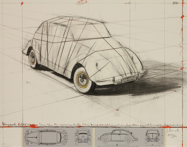 , 'Wrapped Volkswagen (Project for 1961 Volkswagen) ,' 2013, MILL Contemporary